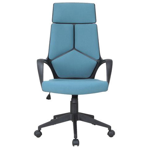 Кресло офисное BRABIX Prime EX-515, ткань, голубое