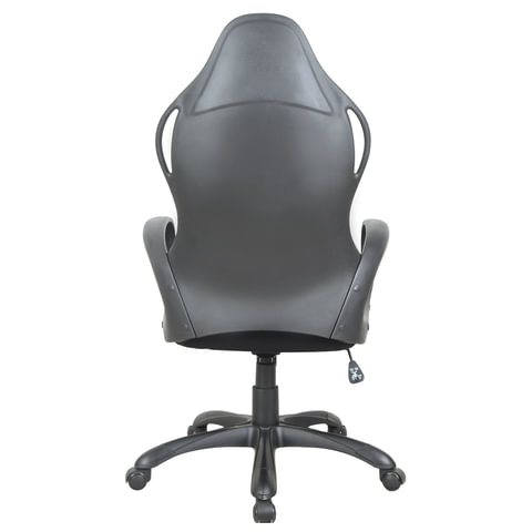 Кресло офисное BRABIX Force EX-516, ткань, черное/вставки красные